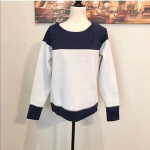 Athleta Fuse Sweatshirt Navy